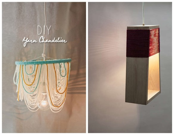luminarias pendentes lustres faca voce mesmo diy linhas fios 4