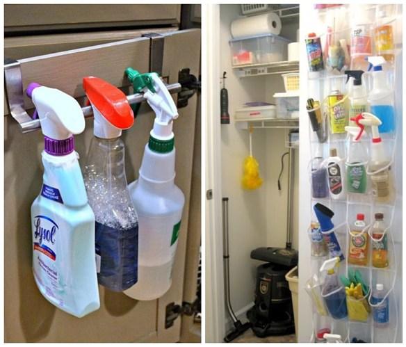 organizacao armario area de servico lavanderia atras da porta aproveitamento espaco