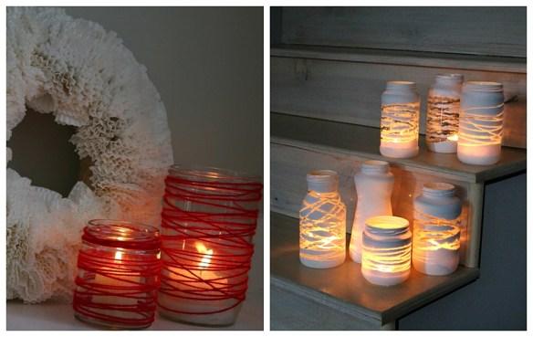 porta velas potes vidro faca voce mesmo diy ideia simples barata facil decoracao 2
