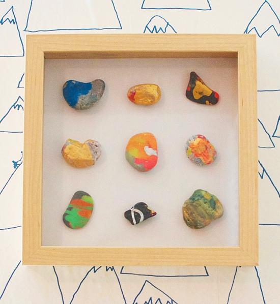 atividades artes divertidas para fazer com criancas pintura pedras decoradas quadrinho