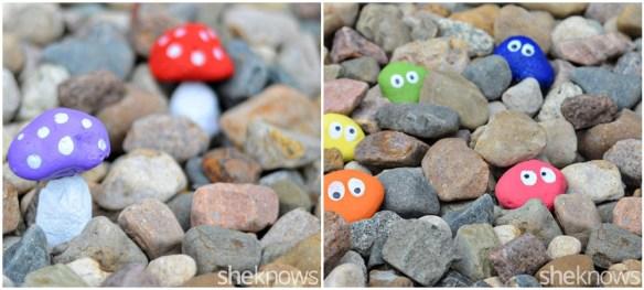 atividades criativas criancas pintura pedras decoracao
