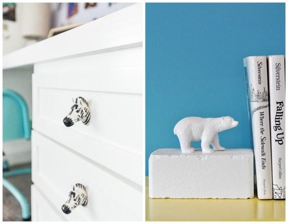 decoracao home office ideias criativas divertidas puxador gavetas aparador livro 2
