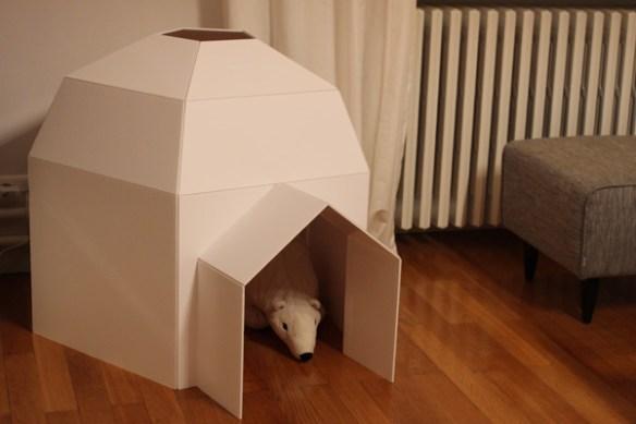 iglu papelao faca voce mesmo diy construcoes criativas com papelao
