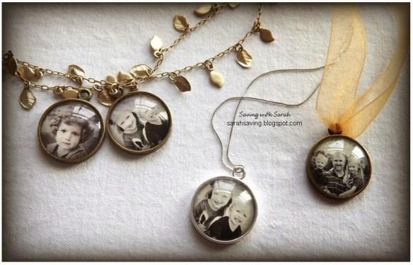 pingentes colares pulseiras com foto faca voce mesmo diy