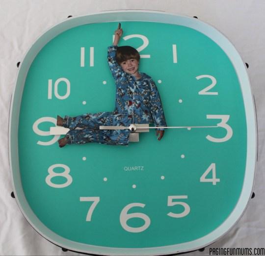 relogio parede criativo fotos criancas faca voce mesmo diy personalized wall clock kids 3