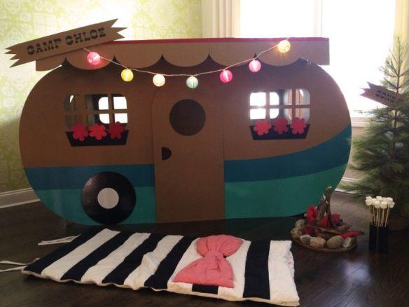 trailer papelao faca voce mesmo diy brinquedos papelao construcoes criativas 2