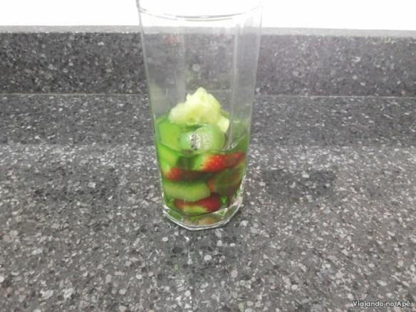 gelatina com frutas fail
