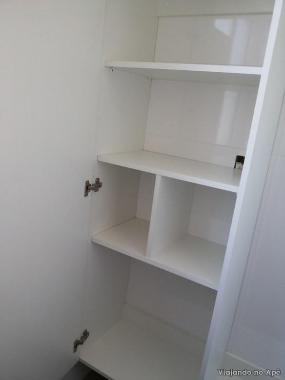 armario da area de serviço lavanderia ape apartamento