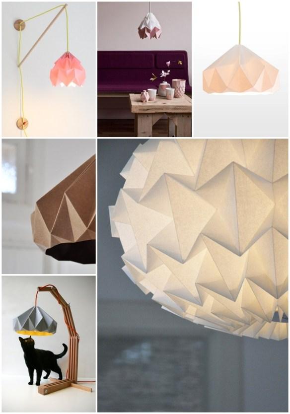 luminarias papel Studio Snowpuppe