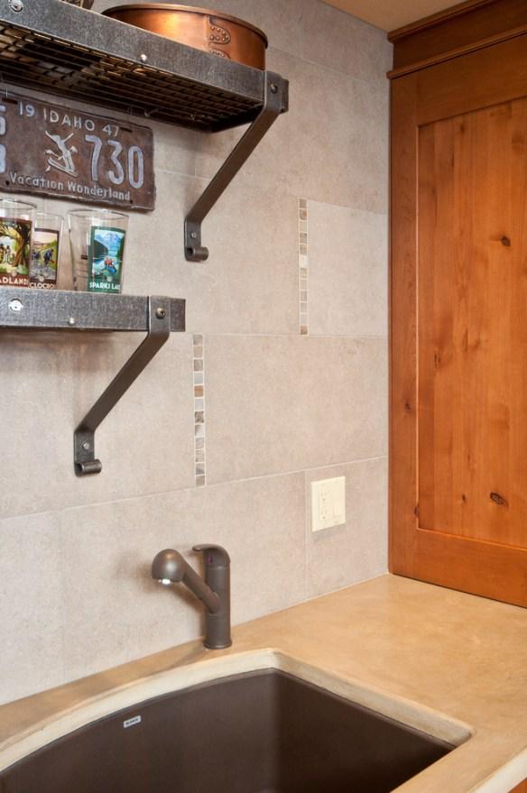 placa decorativa cozinha