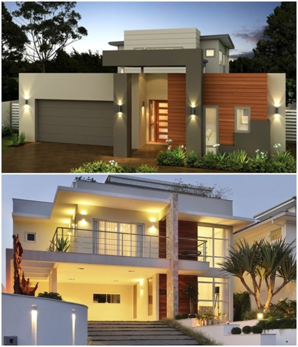 arandela fachada casa 1