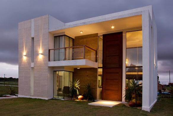 arandelas fachada casa