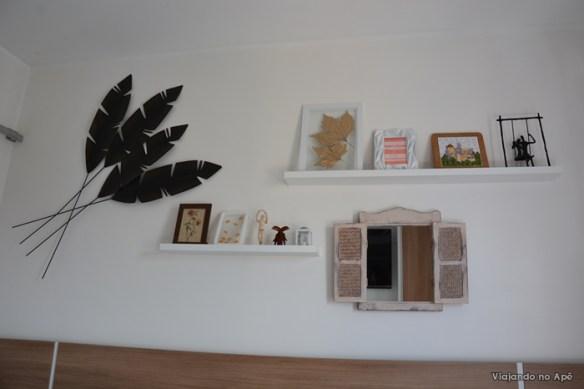 decoraçao quarto prateleiras