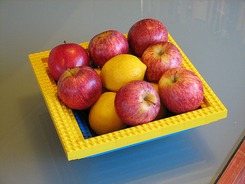 fruteira lego