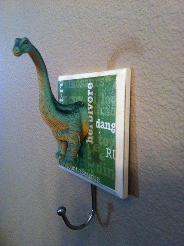 porta casacos dinossauro