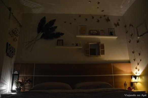 quarto casal decoracao borboletas