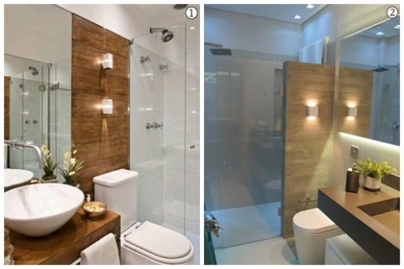 arandelas banheiros