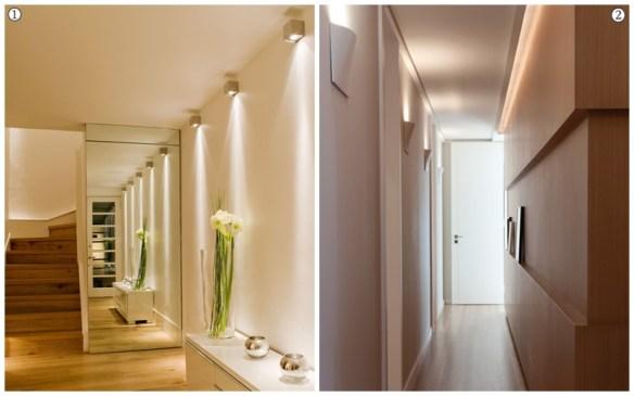 arandelas corredor interno