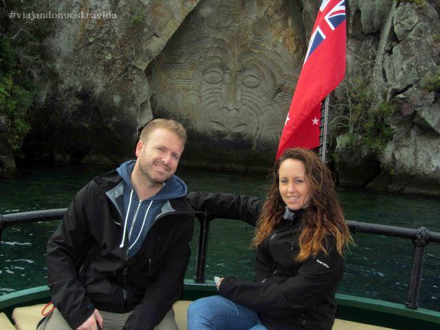 taupo maori rocks
