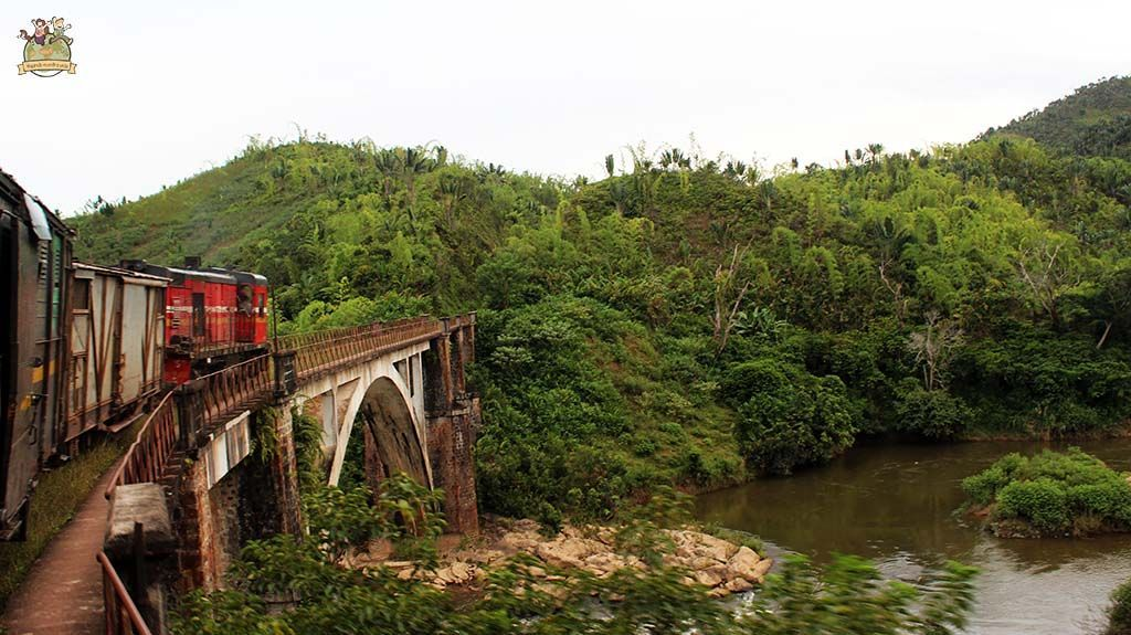 Tren de la selva madagascar. viajar a Madagascar