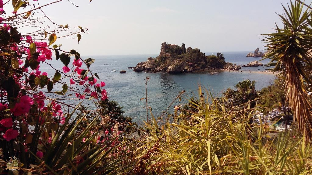 Isola Bella en Taormina Sicília