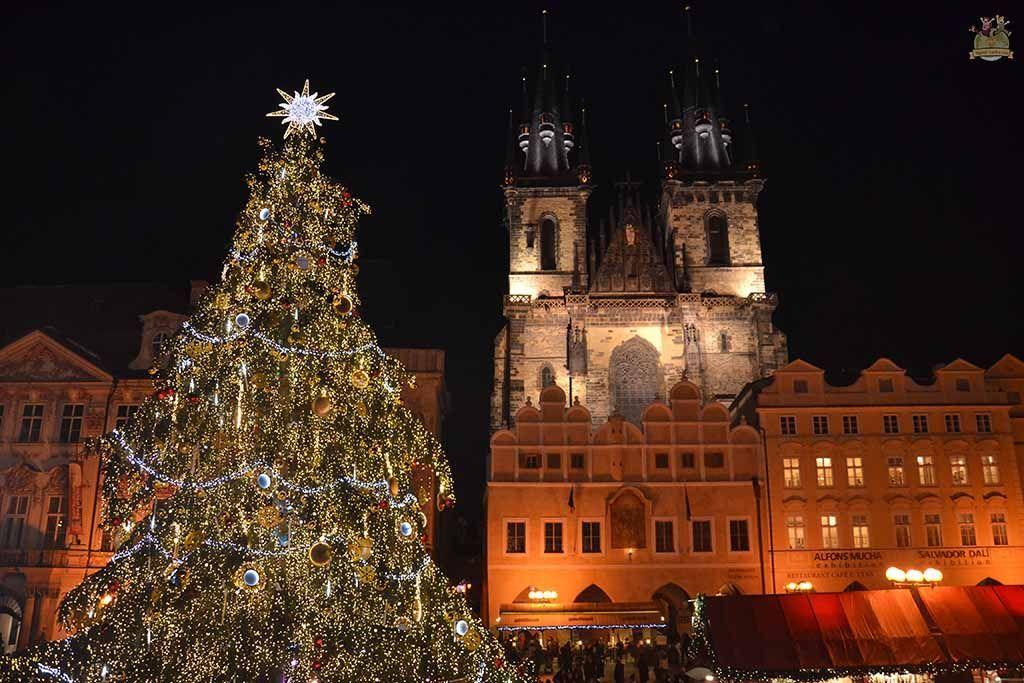 fin de año en Praga, Plaza de la Ciudad Antigua