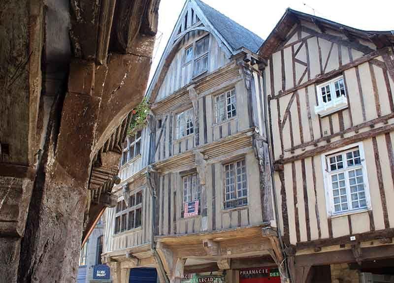 Dinan, pueblo con encanto en Francia
