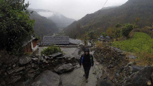 trekking al Campamento Base del Annapurna - syauli bazar