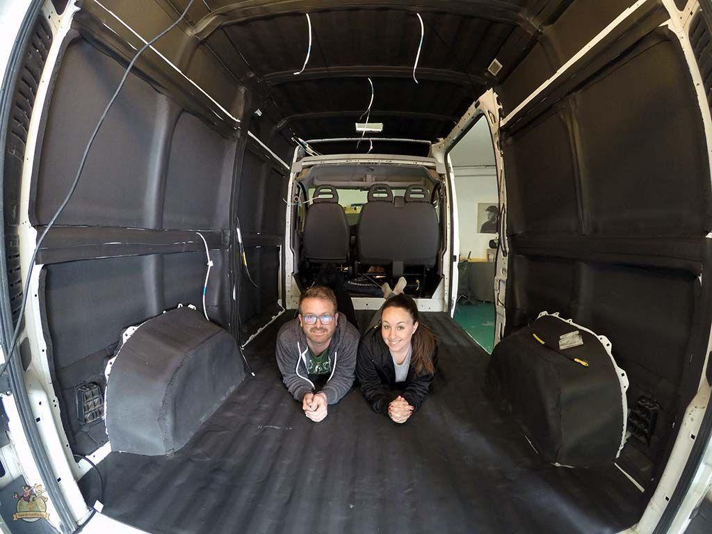 Aislamiento furgoneta con Kaiflex