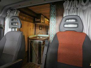 Cambiar los asientos en una furgoneta
