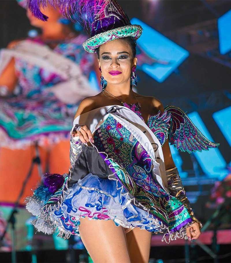 Reina del Folklore 2019 (Traje de Luces) de la Festividad Virgen de la Candelaria