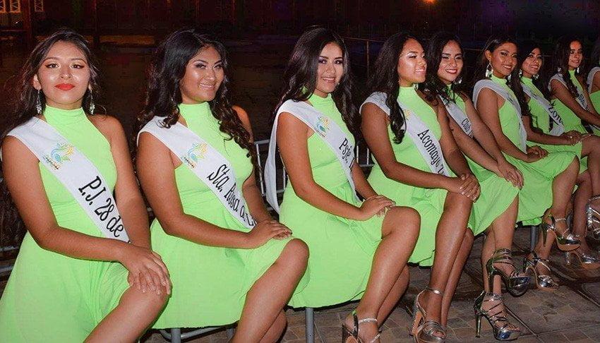Fotos de las candidatas a Señorita Parcona 2020