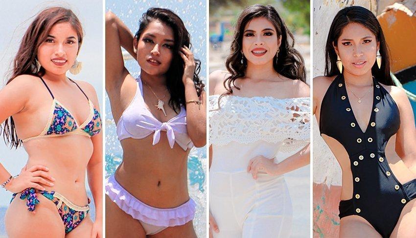 Fotos de las candidatas a Señorita Paita 2020