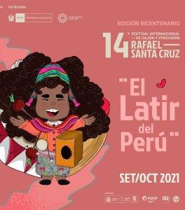 Programa del 14 Festival Internacional de Cajón y Percusión 'Rafael Santa Cruz'