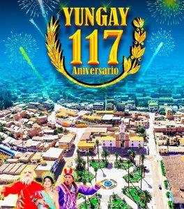 Ancash: Programa del 117 aniversario de Yungay