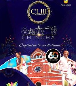 Ica: Programa del 153 aniversario y 60 Semana Turística de Chincha