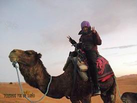 Carol Camello Marruecos