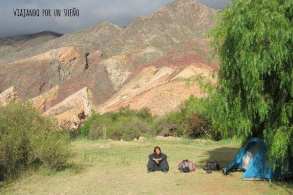 Carol Carpa en la Paleta Del Pintor. Maimara, Argentina