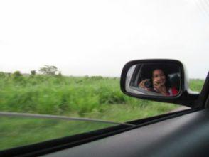 Carol a dedo por las Guayanas