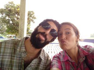 Carol y Juan en Surinam