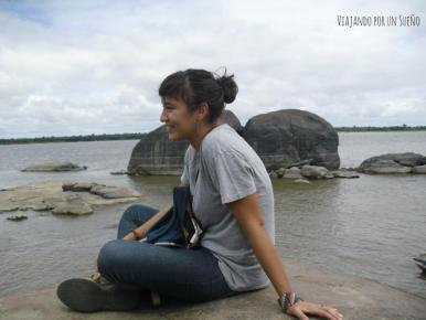 Carol en el orinoco, venezuela