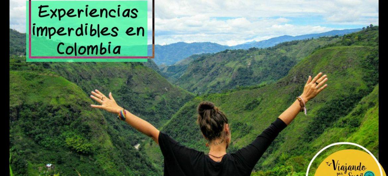 portada Experiencias Colombia por viajando por un sueño