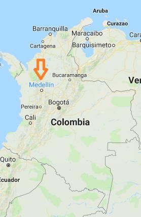 medellin mapa