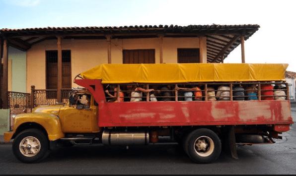 camiones para viajar a cuba
