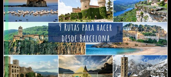Portada 9 rutas desde barcelona