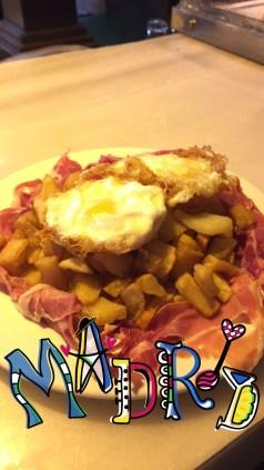 Huevos Rotos de Mercado San Miguel