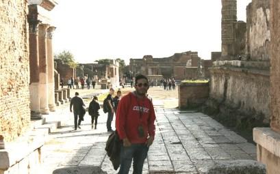 Recorriendo las calles de Pompeya