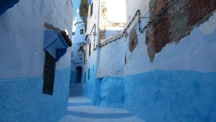 Chefchaouen, cidade azul, Marrocos, país muçulmano, medina