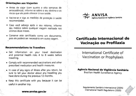 vacinação internacional, viagem à Tailândia, Bangkok