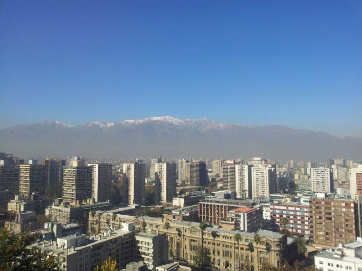O que fazer em Santiago, cerro de San Cristóbal, Cordilheira dos Andes